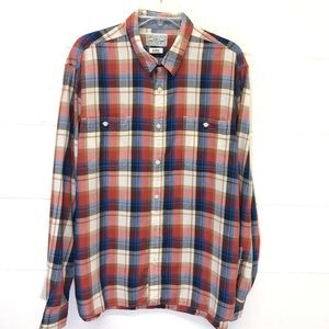 Lucky Brand plaid shirt Size XL